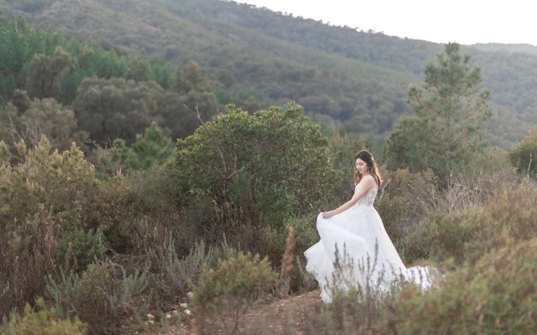 Wild & Chic, un shooting naturel réalisé par Wedding Saint Tropez