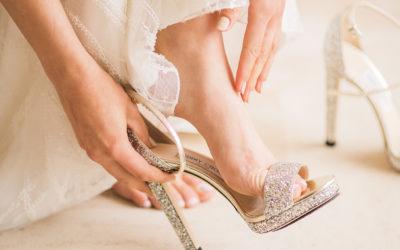 Comment bien choisir sa paire de chaussures de mariée ?